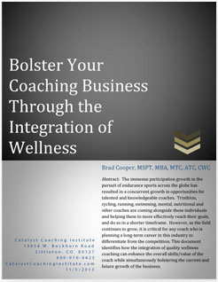 Wellness Coach Certification and Training