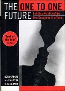 The One to One Future Book Cover - Don Peppers